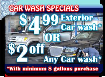 Car Wash Specials